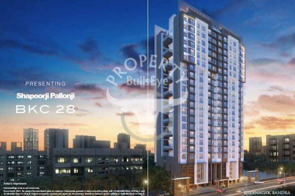 BKC 28 New Project Launch By Shapoorji Pallonji In Bandra East